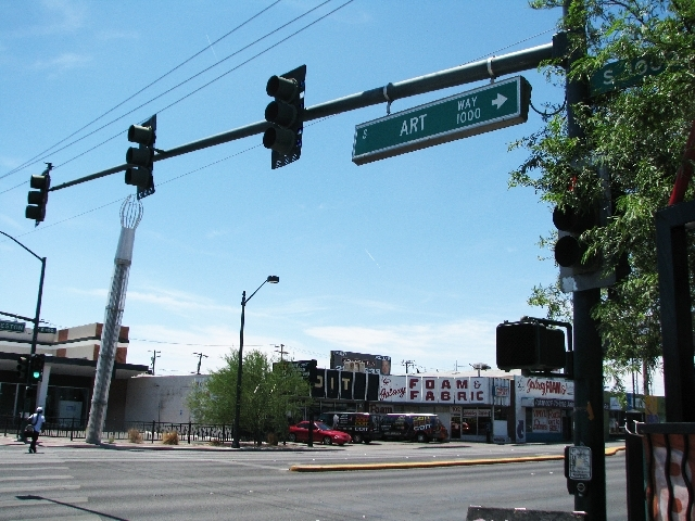 Art Way was named three years ago, and a proposal seeks to change its moniker to Joyce Straus Way to honor the local educator.