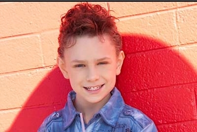 """Southern Highlands 10-year-old Will Brandon Whitesell, aka Will B, performs in  """"Priscilla Queen of the Desert."""""""