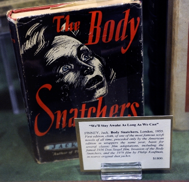 """The Body Snatchers"" is among a collection of first-edition books that were made into movies."