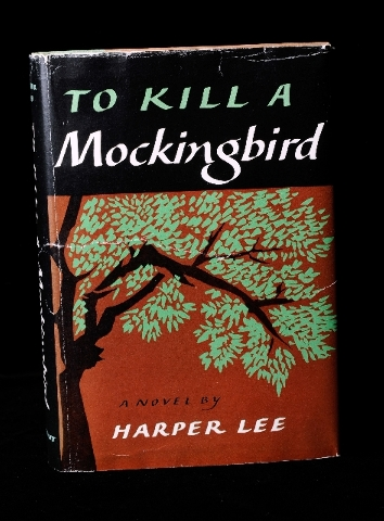"A signed first edition of ""To Kill a  Mockingbird"" by Harper Lee is valued at $23,000 at Bauman Rare Books."