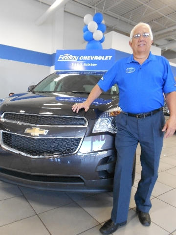 Findlay Chevrolet rental fleet manager John Comport oversees 53 vehicles that are rented to customers at the dealership.