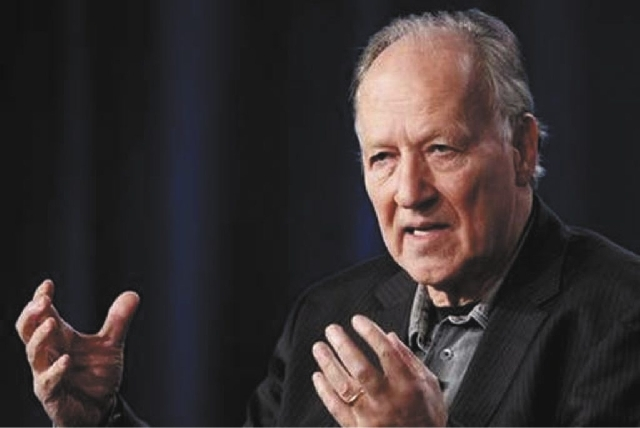 "German director Werner Herzog, seen in this 2012 photo, explores the dangers of texting while driving with his 35-minute short film, ""From One Second to the Next."""