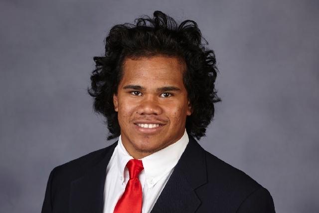 Tau Lotulelei, redshirt freshman brother of former UNLV standout linebacker John Lotulelei, rose to top of Rebels' depth chart at weakside linebacker in the spring.