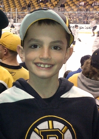This April 11 photo provided by the Richard family shows, Martin Richard, 8, in Boston, the youngest of three people killed in the bombings, April 15 near the finish line of the Boston Marathon.