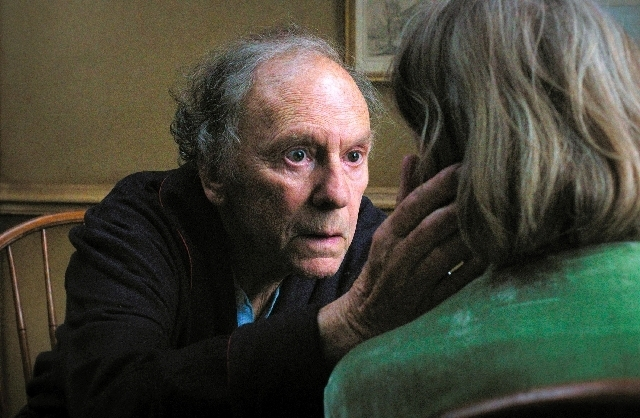 """Jean-Louis Trintignant stars in """"Amour,"""" which received five Oscar nominations. (SONY PICTURES CLASSICS)"""