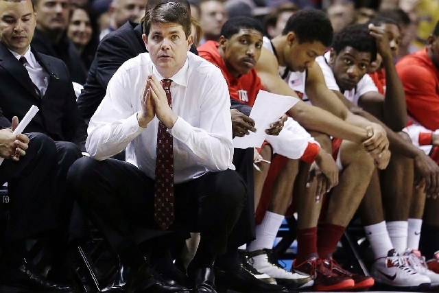 Dave Rice's Rebels are among 4 teams that figure to battle for the Mountain West basketball championship.