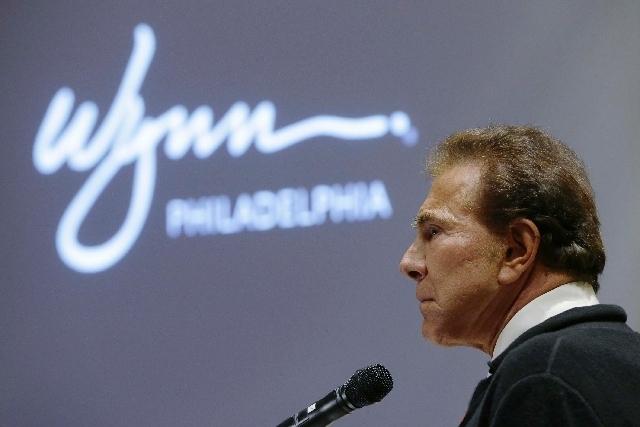 Developer Steve Wynn, seen here addressing the Pennsylvania Gaming Control Board in Philadelphia, is now looking to cash in on online gambling in New Jersey.