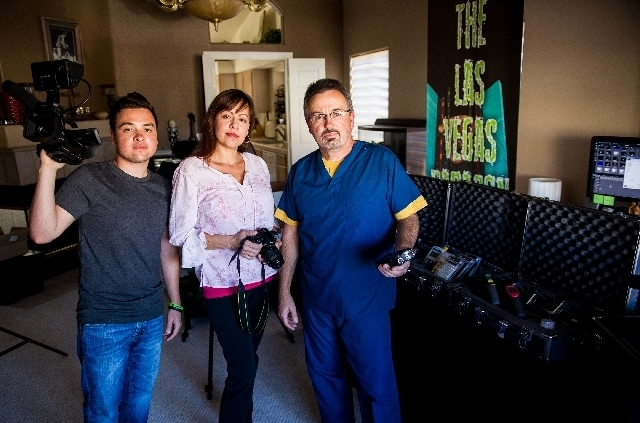 Brian and Linda Purdy and their son David, of Henderson, are the founding members of the Elite Vegas Paranormal Society, which plans the second annual Las Vegas Paracon from Aug. 23 to 25 at Binio ...