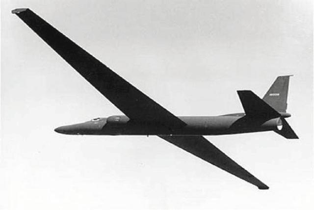 The prototype U-2 spy plane was tested Aug. 4, 1955, at Groom Lake.