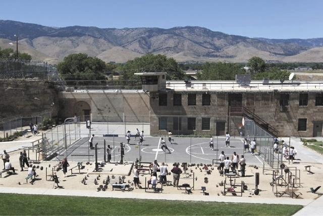 Now defunct Nevada State Prison is seen in this Review-Journal file photo.