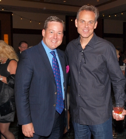 Ed Henry, left, and Colin Cowherd