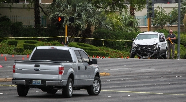 A second man, Felix Brandon Cruz of Visalia, Calif., has died from injuries sustained in Sunday's accident after a pickup truck was stolen from the Flamingo Las Vegas valet area. Cruz and Jesus M ...