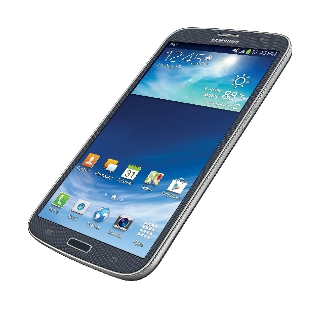 This photo provided by AT&T shows the Samsung Galaxy Mega.