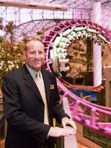 Tom Nolan, vice president of operations at Adventuredome, has been with the Circus Circus attraction since its opening in 1993. The theme park is celebrating its 20th anniversary this month. (Sama ...