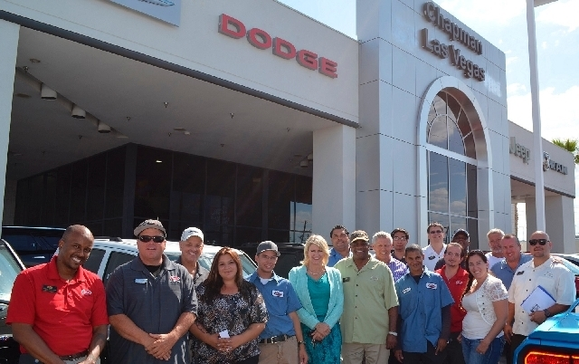 Chapman Dodge Chrysler Jeep Ram Employees, Many Who Have Purchased  Vehicles, Gather In Front