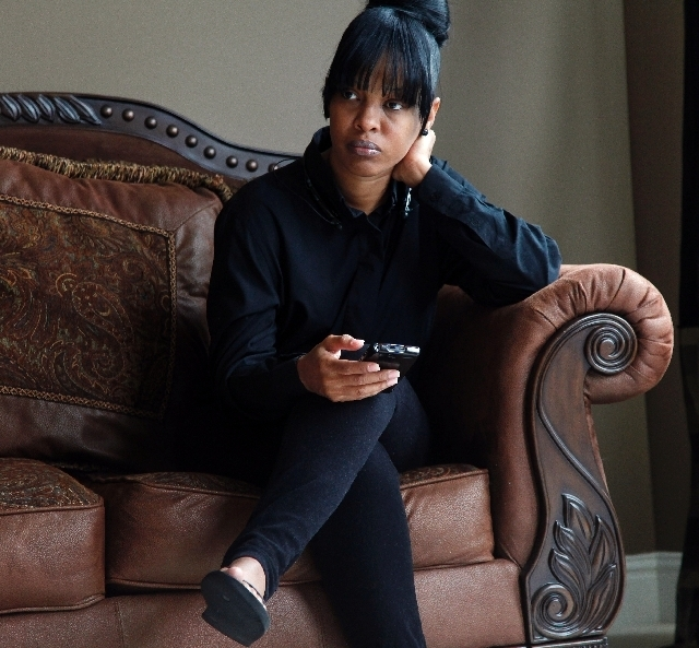 Natasha Knotts of Lithonia, Ga., says that Michael Brandon lived with her and her husband when Brandon was in his late teens. (The Associated Press)