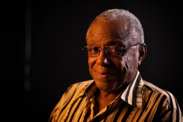 Roosevelt Thompson was part of the March on Washington 50 years ago. (JESSICA EBELHAR/LAS VEGAS REVIEW-JOURNAL)
