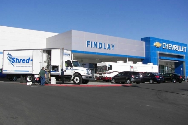 Findlay Chevrolet's annual Safety Fair will return to the dealership Saturday. Among the organizations participating will be Shred-It and United Blood Services.