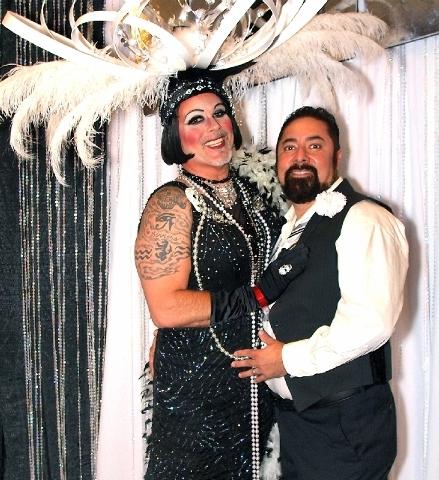 Norma Llyaman, left, and Derek Guerrero
