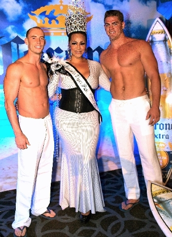 John Macejak, from left, Selena D'Angelo and Vince Pezzuto
