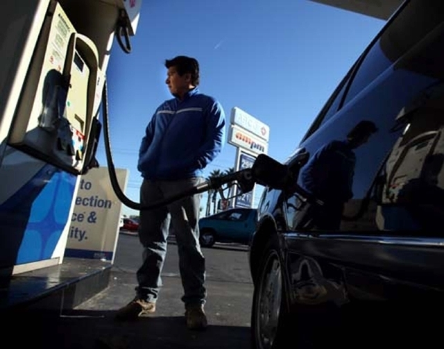 Las Vegas motorists have seen a slight drop in the price of gasoline in the last month. But prices under $3 a gallon, seen about nine months ago, are a distant memory.