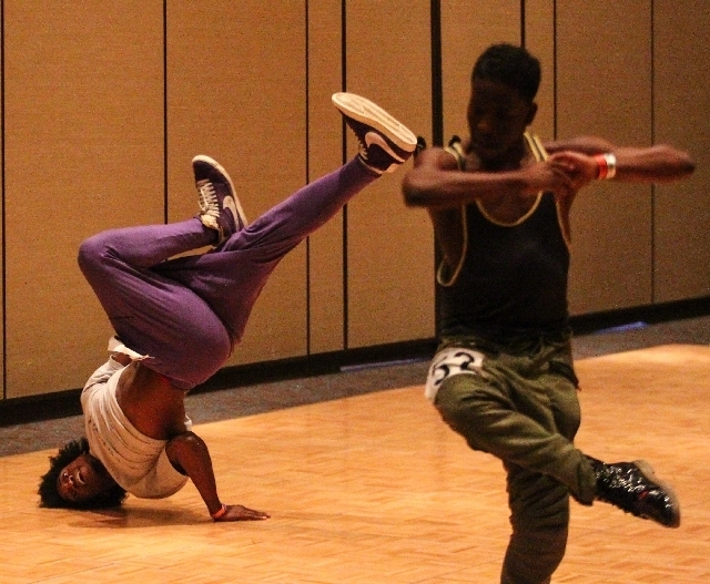 """""""Michael Jackson One"""" auditioners display a plethora of techniques, including break dancing, popping and locking, and a general dance mastery."""