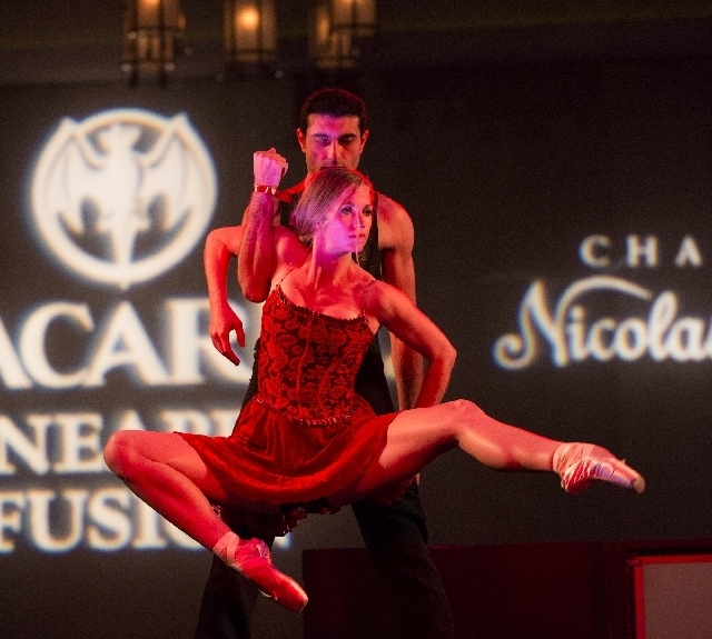 """Nevada Ballet performers were among many talented Las Vegans at last Saturday's """"Black & White Party"""" fundraiser for Aid for AIDS of Nevada at The Joint at the Hard Rock Hotel."""