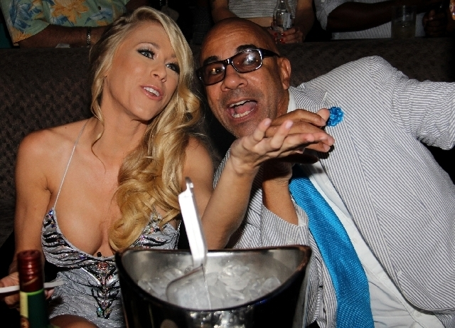 """HBO sexpert Katie Morgan is creating a new travel TV show, so for that show, she hosted and judged a """"Bangin' Booty Contest"""" last Saturday at club Posh inside Crazy Horse III strip club complex ..."""