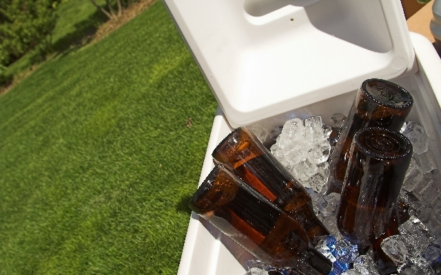 Don't forget the beer for your tailgate party.