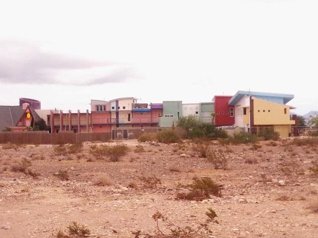 Penn Jillette's house shown on Aug. 25, 2013. (Graydon Johns/Las Vegas Review-Journal)