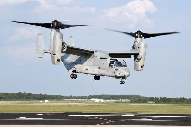 Marines Osprey Caught Fire After Hard Landing In Nevada Las Vegas