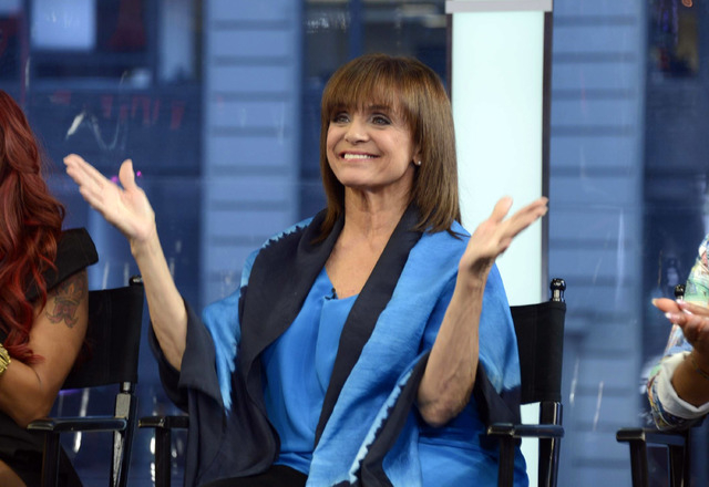 """This image released by ABC shows actress Valerie Harper on """"Good Morning America,"""" Wednesday, Sept. 4, 2013 in New York after it was announced that she will be one of 12 celebrities comp ..."""