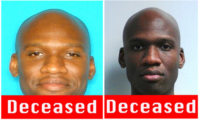 These images released by the FBI show photos of Aaron Alexis, who police believe was a gunman at the Washington Navy Yard shooting in Washington, Monday morning, Sept. 16, 2013, and who was killed ...