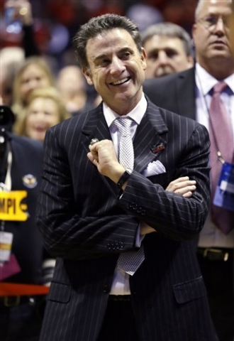 Michael Conroy/the associated press Rick Pitino, above, and fellow Naismith Basketball Hall of Fame inductee Jerry Tarkanian coached against each other only once: during the 1975-76 season when Pi ...