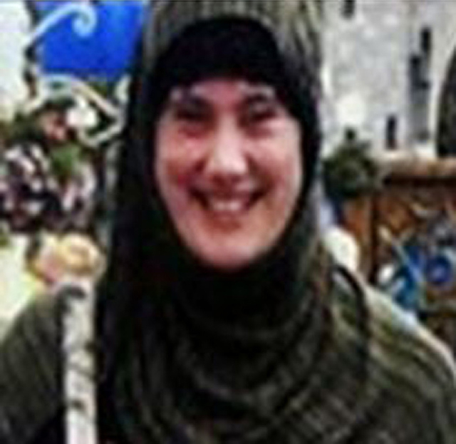 """Undated image provided by Interpol shows Samantha Lewthwaite. Interpol has issued an arrest notice for Samantha Lewthwaite, the fugitive Briton whom news media have dubbed the """"white widow.&q ..."""