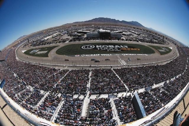 File Photo Las Vegas Motor Speedway