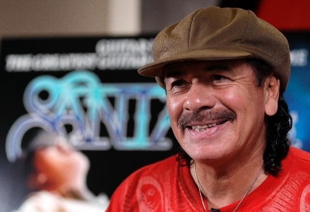 File Photo Carlos Santana