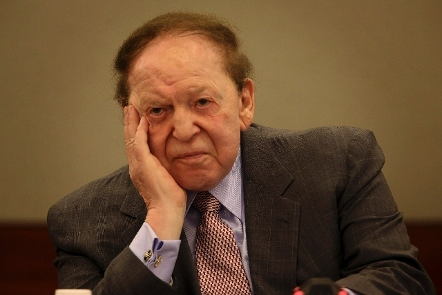 A defamation lawsuit filed by Las Vegas Sands Corp. Chairman Sheldon Adelson against the National Jewish Democratic Council was dismissed Monday by a federal judge.