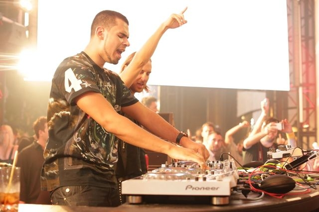 Afrojack (left) DJs Wednesday at Encore's Surrender nightclub. David Guetta (right) DJs Friday at Wynn's XS nightclub, then Saturday at Encore Beach Club. (Courtesy photo.)