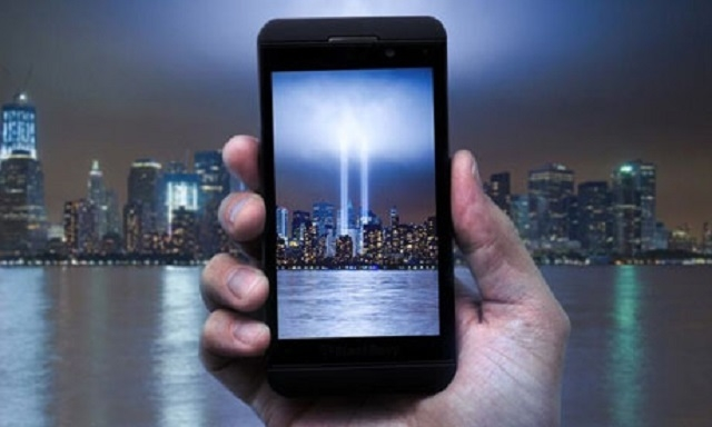 AT&T posted and later deleted this photo on the 12th anniversary of the 9/11 terrorist attacks. (AT&T/Twitter)