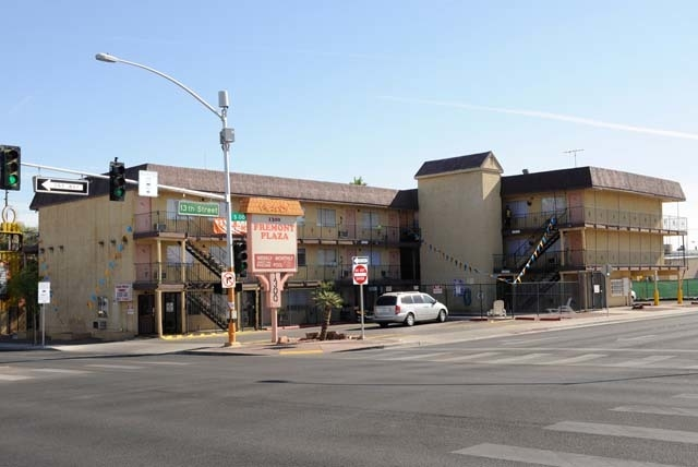 Before rendering. If you want to use this for REDEVELOP-SEPT05-13, the address of this building is 1401 East Fremont.