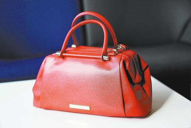 An Ivanka Trump handbag at 6pm.com in Las Vegas on Sept. 5, 2013. (Jason Bean/Las Vegas Review-Journal)