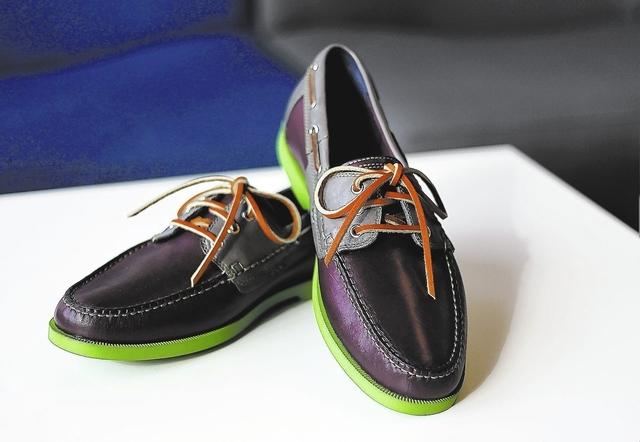 Cole Haan boat shoes at 6pm.com in Las Vegas on Sept. 5, 2013. (Jason Bean/Las Vegas Review-Journal)
