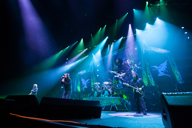 Chase Stevens/Las Vegas Review-Journal Black Sabbath performs Sunday at the MGM Grand Garden Arena.