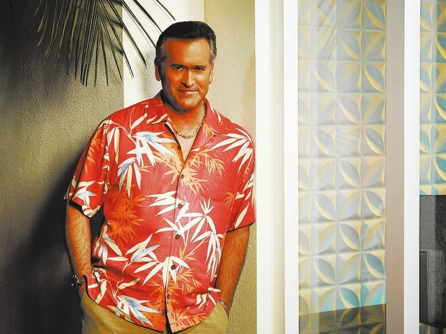 BURN NOTICE -- Season: 7 -- Pictured: Bruce Campbell as Sam Axe -- (Photo by: Robert Ascroft/USA Network)