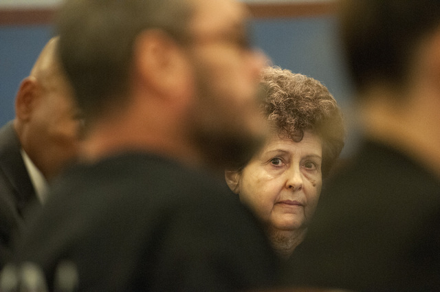 Devon Campbell Newman, is seen in the courtroom for her preliminary hearing at the Regional Justice Center, Thursday, Sept. 26, 2013, in Las Vegas, Nev. Newman faces charges for conspiracy to comm ...