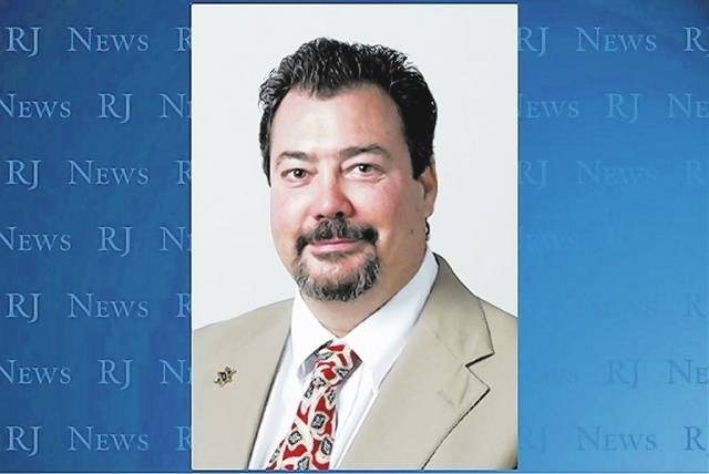 Constable John Bonaventura. (Las Vegas Review-Journal File Photo)