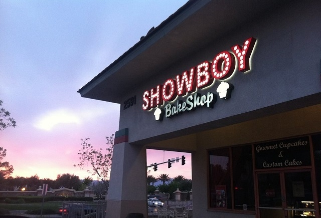 "The owners of Showboy Bakeshop in Henderson competed on ""Cupcake Wars"" over the summer. The show will air at 8 p.m. Saturday. (Courtesy/Showboy Bakeshop)"