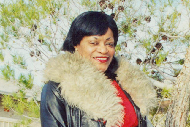 Dixie Chaney Jones, 71, of Las Vegas, was shot and killed Saturday night near her home after she refused to cooperate with 19-year-old William Copeland, who was trying to rob her, according to pol ...