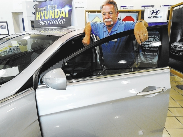 Centennial Hyundai sales consultant Rick Walker won local and district walk-around contests and will now advance to the regional competition in Laguna Beach, Calif.